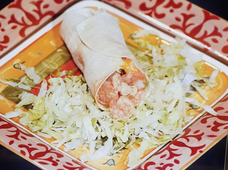 Southwestern Garlic Shrimp Tacos