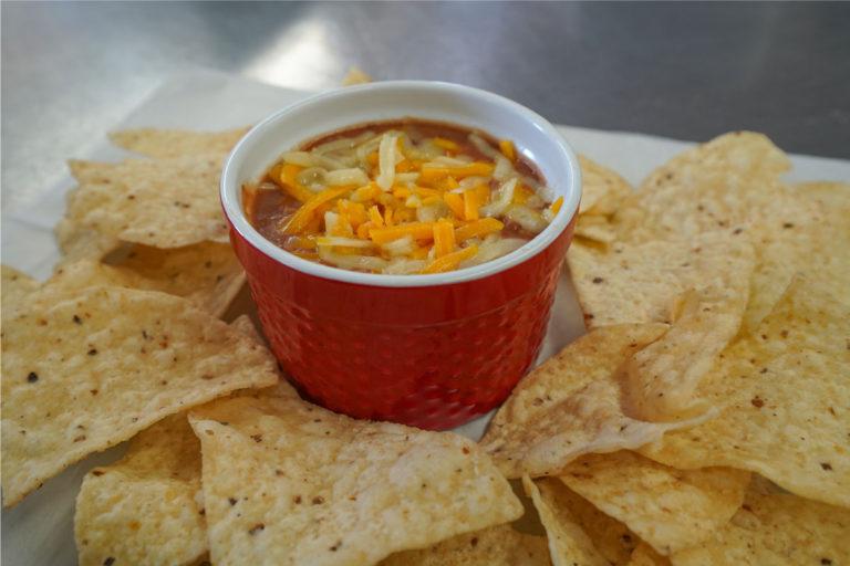 Chips & Bean Dip